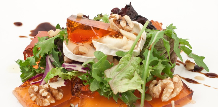 Cheese and quince jam salad - Membrillo San Lorenzo